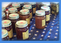 Apple Butter, Jams, Pickles, and more!
