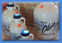 Pure Ohio Maple Syrup